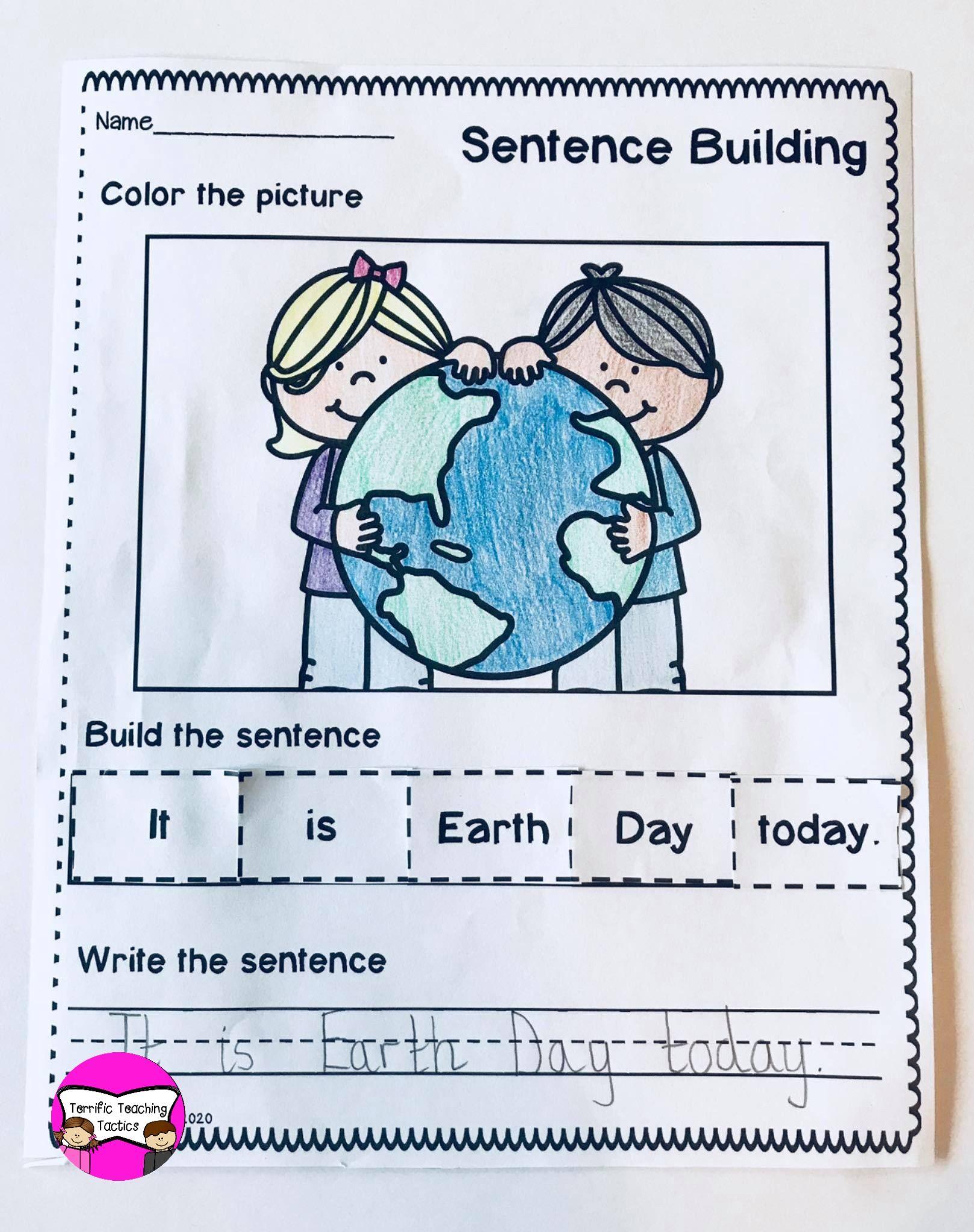 April Sentence Building