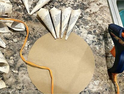 Photo of How to make a book page wreath DIY