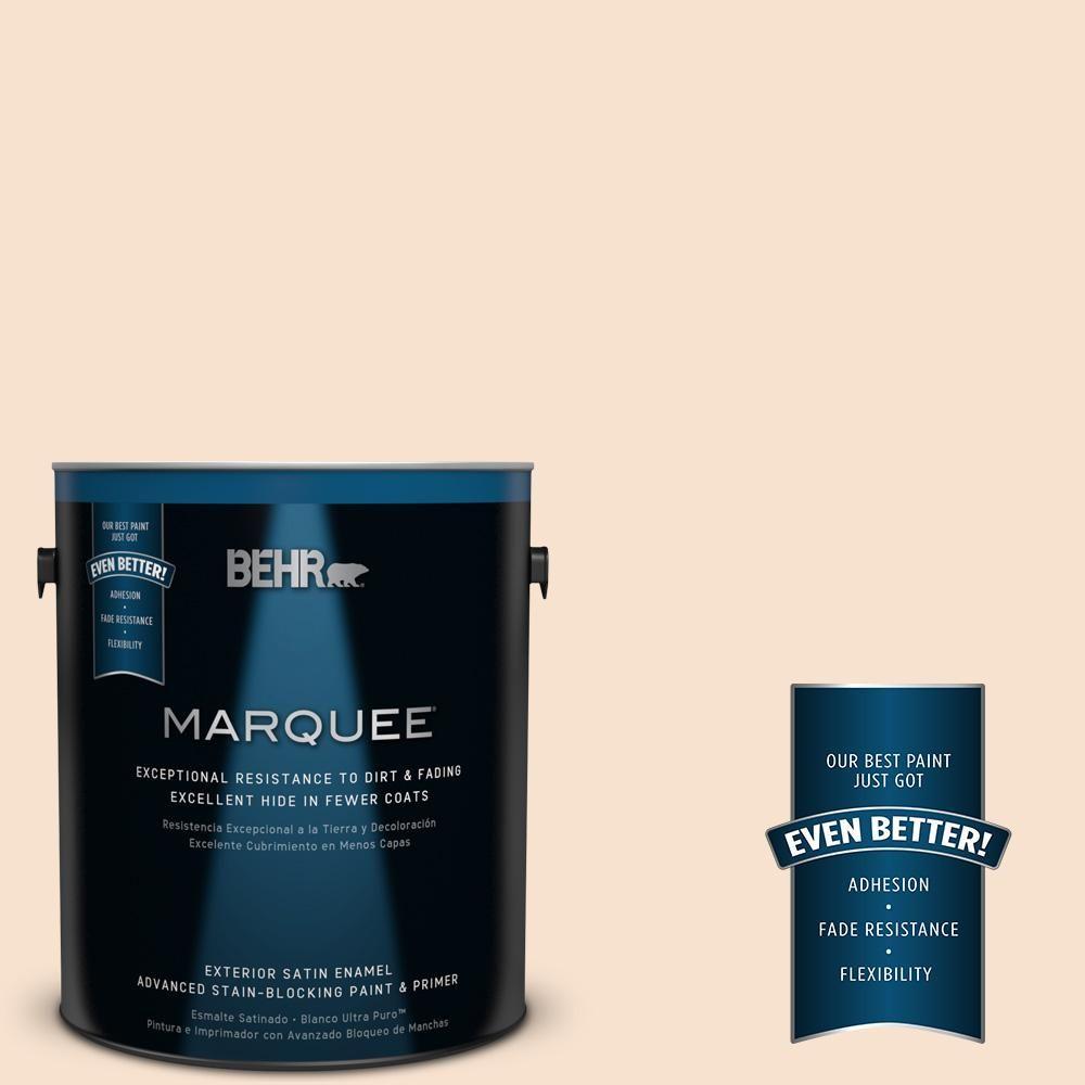 behr marquee 1 gal ppl 32 autumn glow satin enamel exterior paint Enamel On Metal ppl 32 autumn glow satin enamel exterior paint