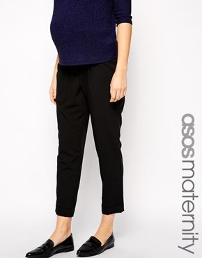 1d06c1fa9eb ASOS Maternity Work Wear Ankle Grazer Trouser