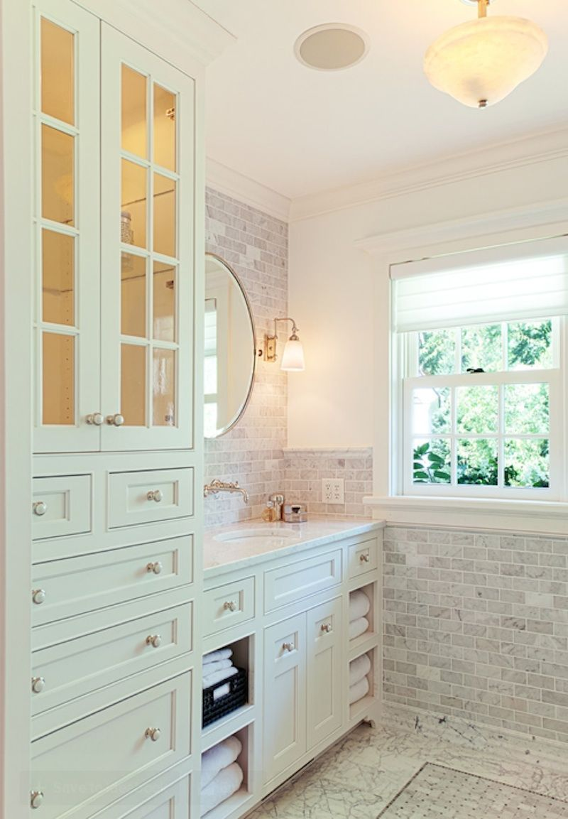 10 Easy Design Touches for your Master Bathroom - http://freshome ...