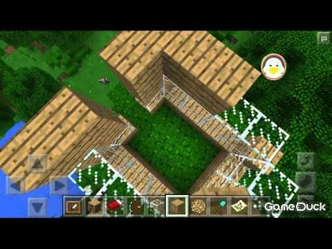 HOW TO BUILD A TREEBUNKER Minecraft PE Gaming Pinterest - Minecraft shooter spiele