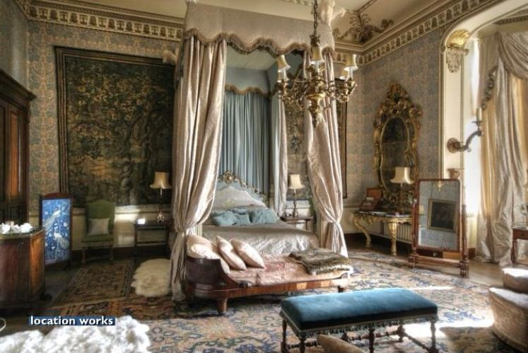 Tapestry Bedroom Belvoir Castle Historical Interiors