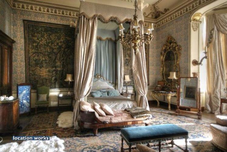Tapestry Bedroom, Belvoir Castle | Interior | Pinterest ...