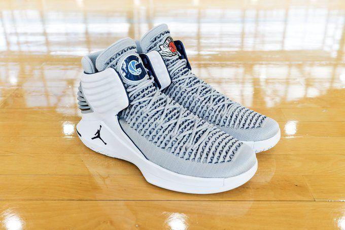 separation shoes f6af5 686bc Air Jordan XXX2 Georgetown PE | Nike fan in 2019 | Air ...