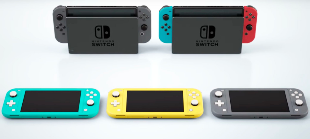 The New Nintendo Switch Lite Is Coming And It Looks As