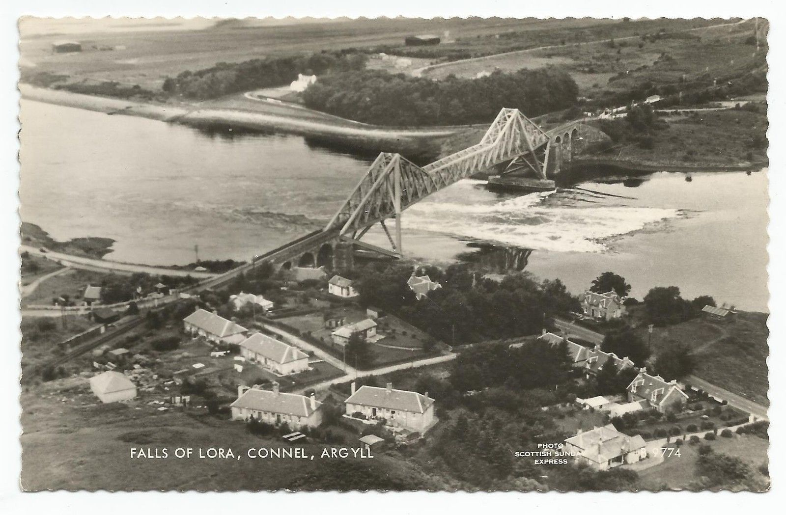 http://www.ebay.co.uk/itm/POSTCARD-SCOTLAND-CONNEL-FERRY-RP-An-Aerial-View-of-The-Bridge-amp-Falls-of-Lora-/381248516893?