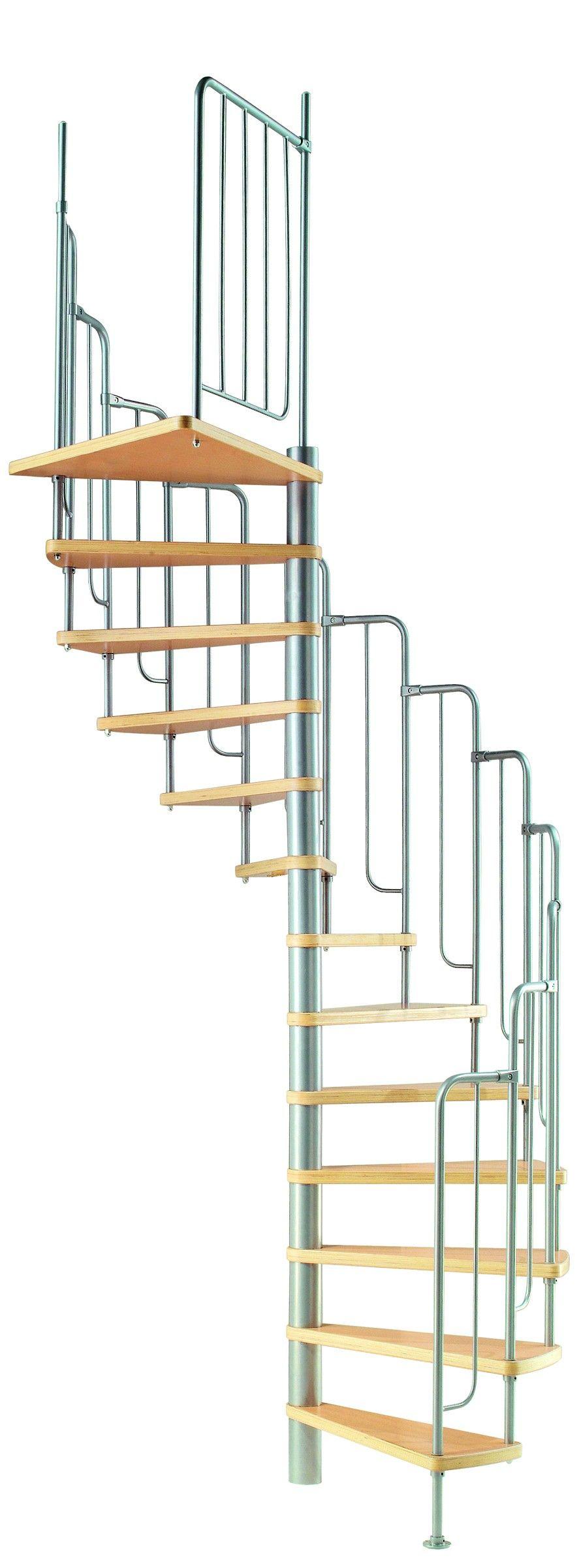 Best Dolle Barcelona Spiral Staircase Escaleras Casas Modulares 400 x 300