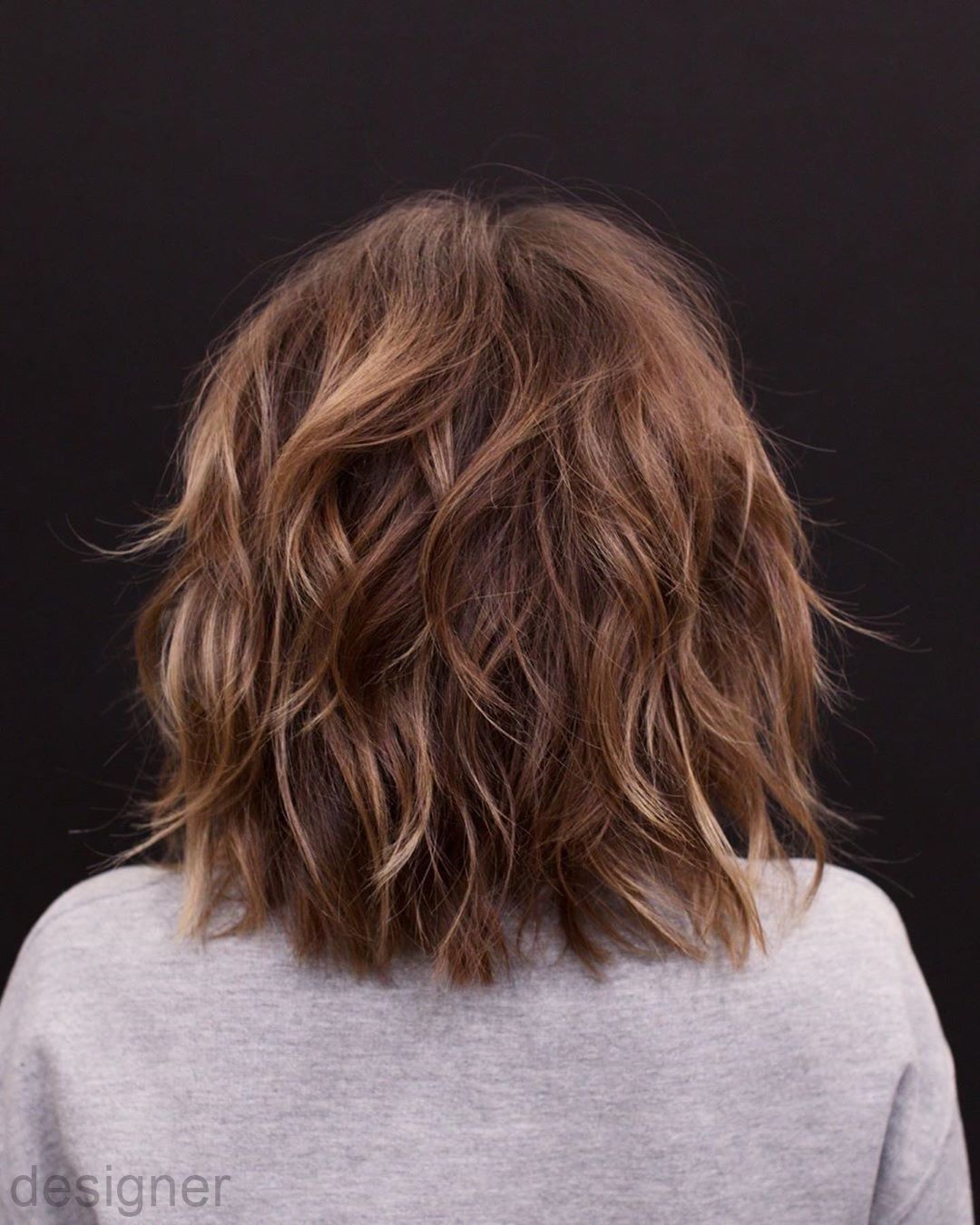 How To Get Big Waves In Hair Tutorials Best Hair Styles For Turkey Neck How To Hair Styles Step B In 2020 Layered Bob Hairstyles Hair Styles Bob Hairstyles