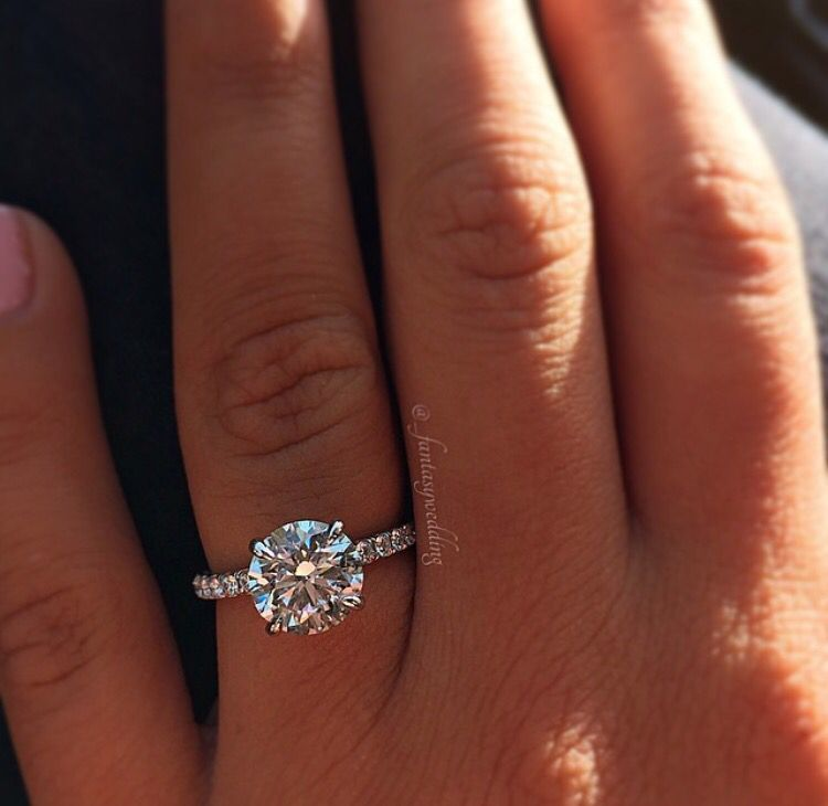Circle Simple Perfect Ring Dream Engagement Rings Wedding