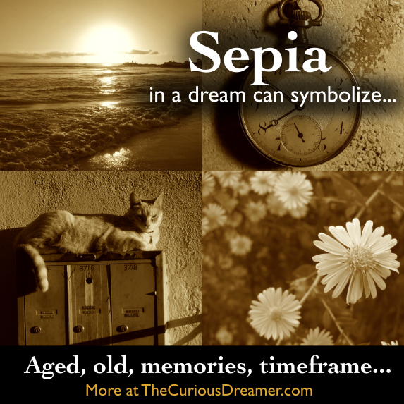 Sepia Color In A Dream Can Mean More At Thecuriousdreamer