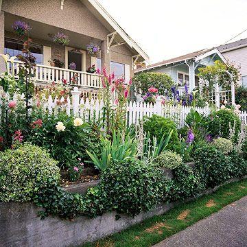 Front Yard Sidewalk Garden Ideas Front Yard Backyard Front Yard Design