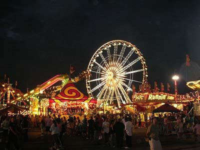 The Fair is in town...