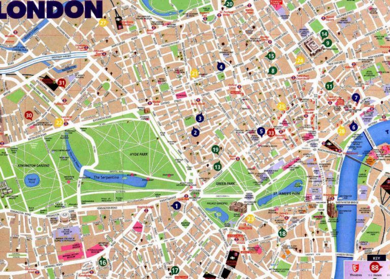 Central London Street Map.Street Map Of London City Centre And Me Inside Printable