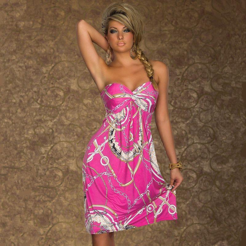 2016 Bohemian European Style Women Dress Sexy Elegant Clothes ...