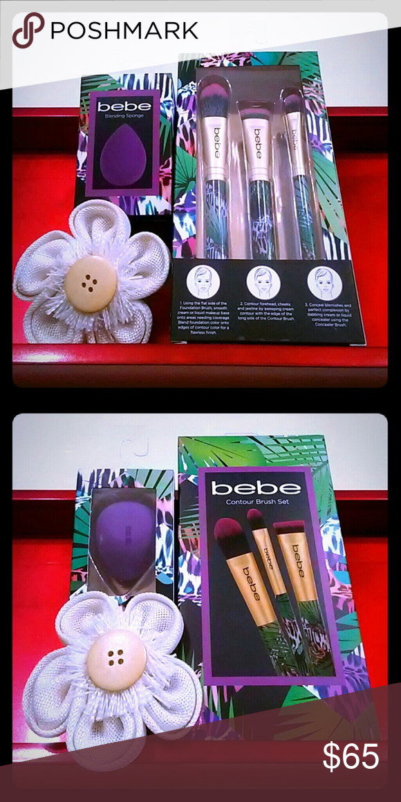 A bebe makeup Kit. Not opened or used. Makeup kit