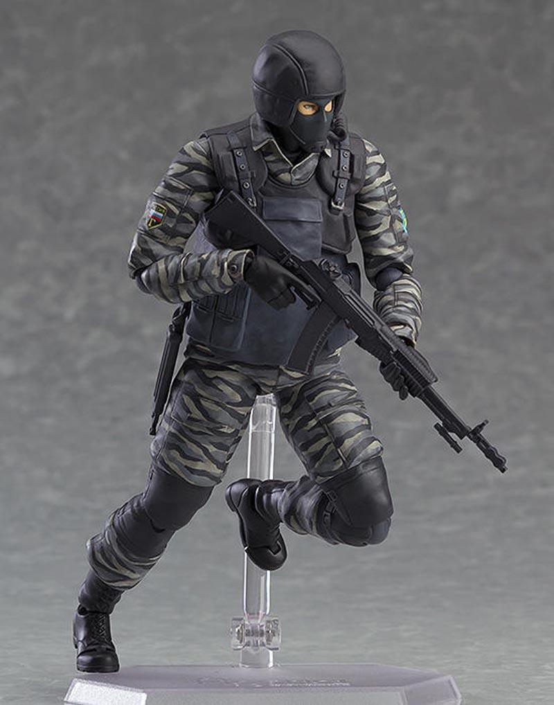 Figma 298 Metal Gear Solid 2 Sons of Liberty Gurlukovich Solider Action Figure