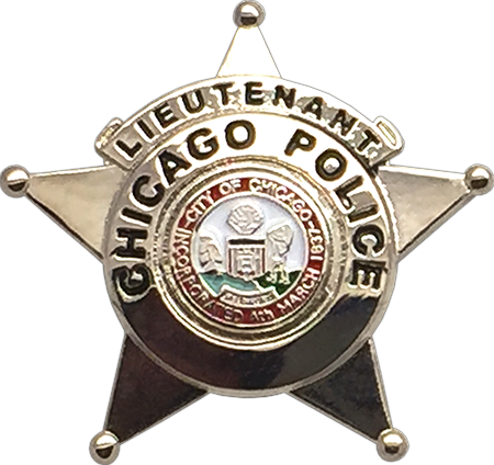 Us State Of Illinois City Of Chicago Police Department Lieutenant Badge Fire Badge Police Badge Badge