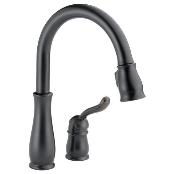 Delta Leland Single Handle Pull Down Kitchen Faucet 978-DST | Pinterest