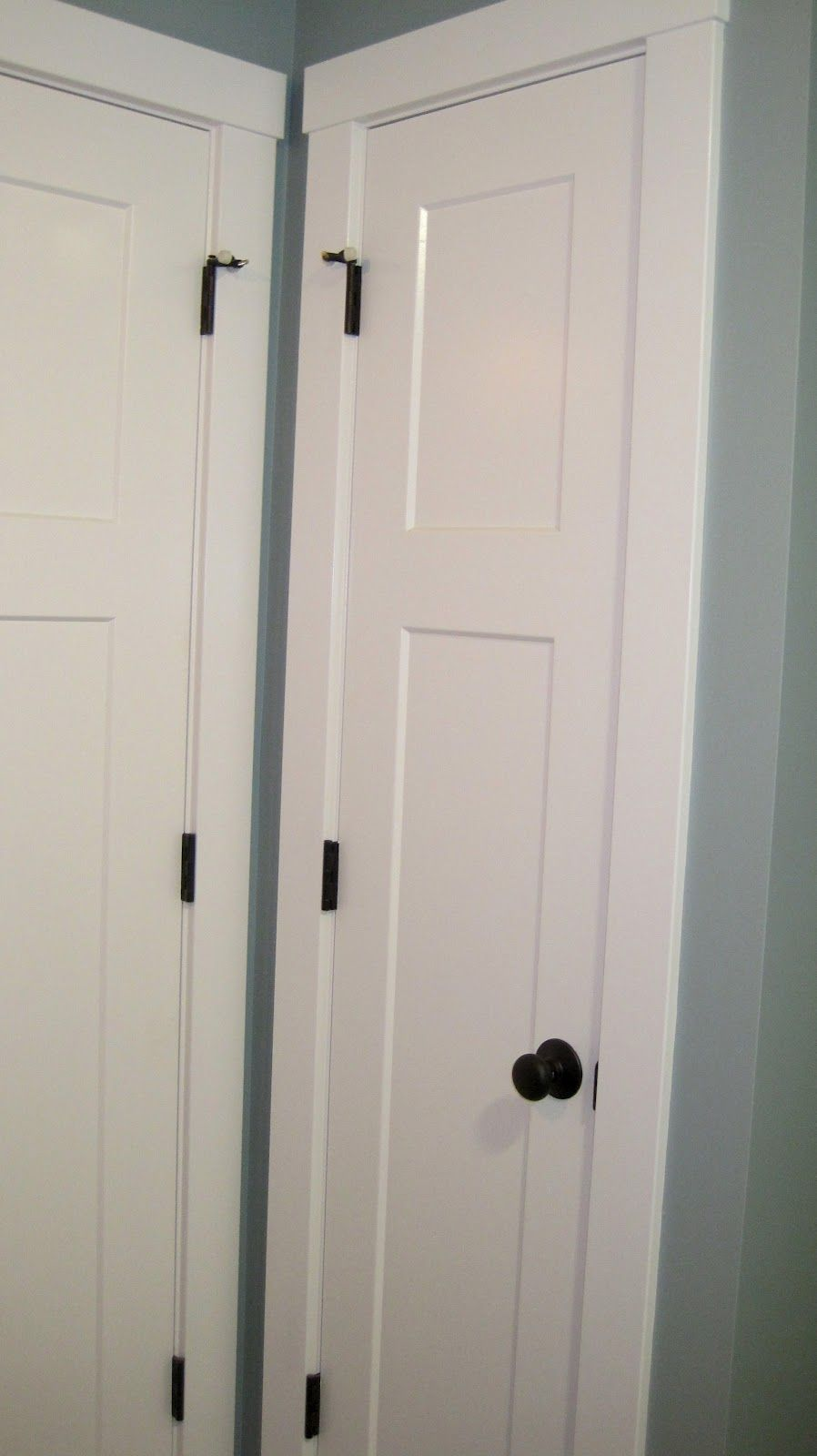 Image Of Linen Closet Doors Style For The Home Pinterest