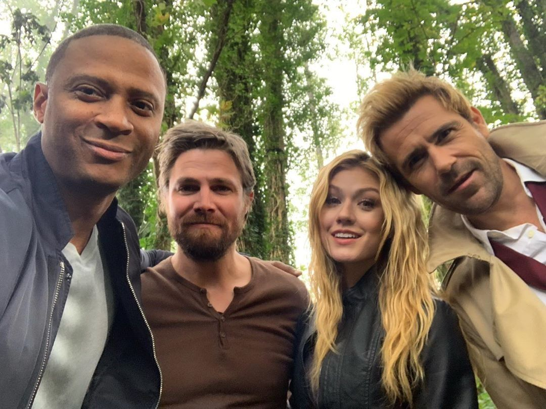 Pin By Brittany Vincent On Tv Shows Katherine Mcnamara Arrow Cast Constantine Tv Show
