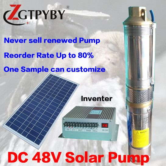 Solar Machine 3 Years Guarantee Solar Powered Submersible Deep Well Water Pumps Solar Powered Water Pump Water Fountain Pumps Solar Water Pump