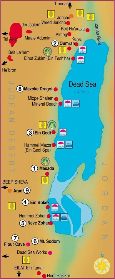 Map Of Israel Dead Sea Maps of the Dead Sea | Touring Guides in Israel | Pinterest | Dead