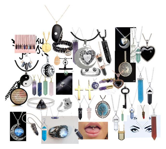 """Jewelry"" by zookiethevampirecat on Polyvore featuring Lord & Taylor, Saks Fifth Avenue, Carolina Glamour Collection, Bling Jewelry, Tiffany & Co., Sharon Khazzam, Bridge Jewelry, Body Bauble, Bing Bang and WithChic"