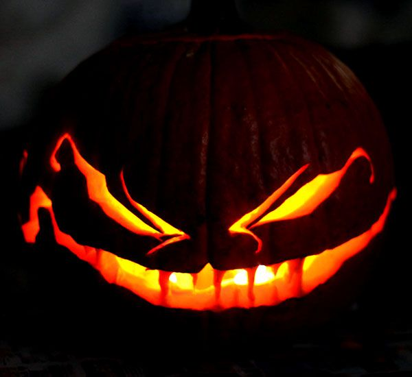 60 Best Cool Creative Scary Halloween Pumpkin Carving