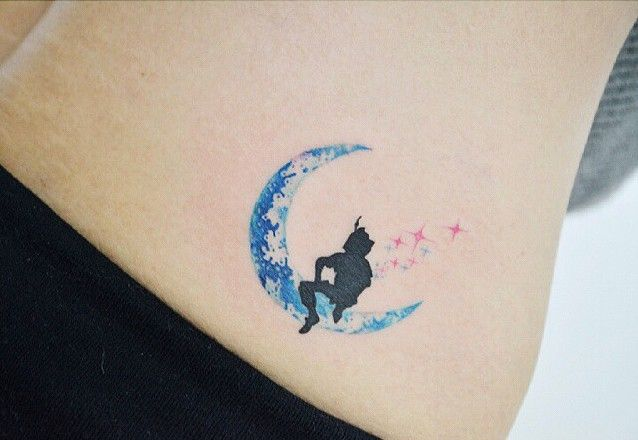 27 Minimalist Peter Pan Tattoos to Remind You to Never Grow Up | Ink ...