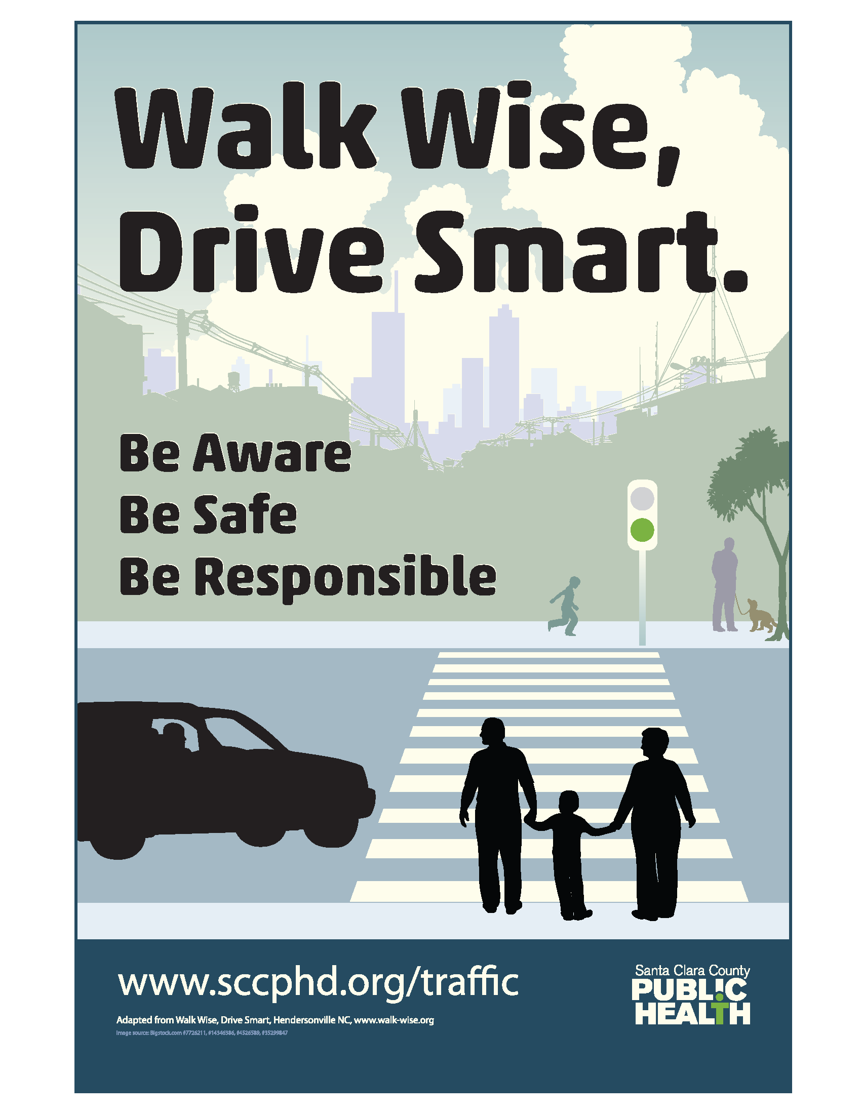 Tips for drivers Stop for pedestrians it's the law in