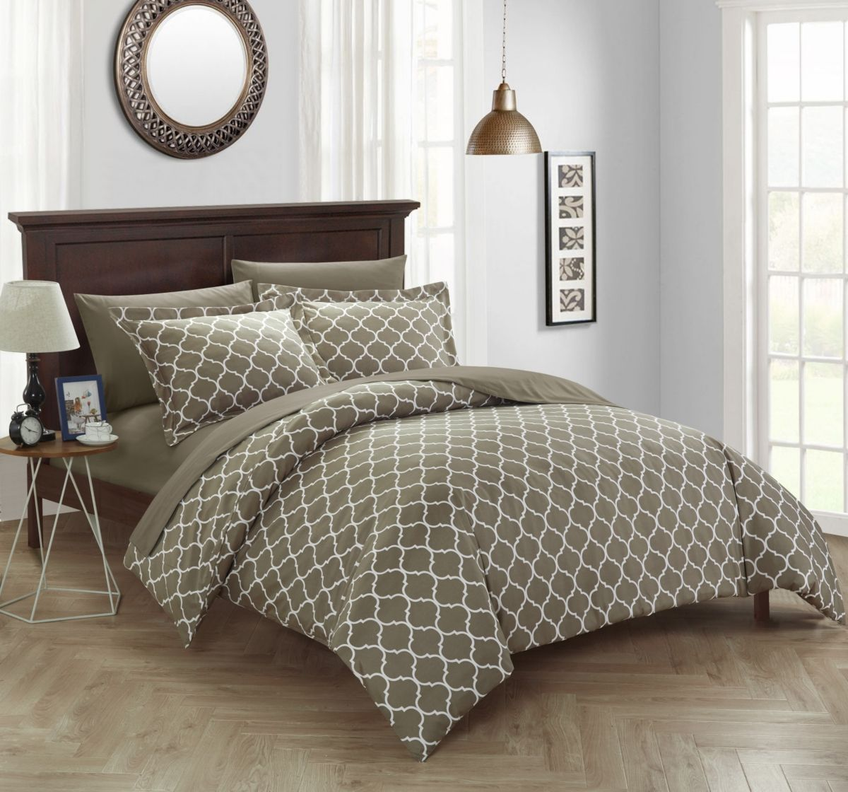 Chic Home Brooklyn Duvet Cover Sets Reviews Duvet Covers Bed