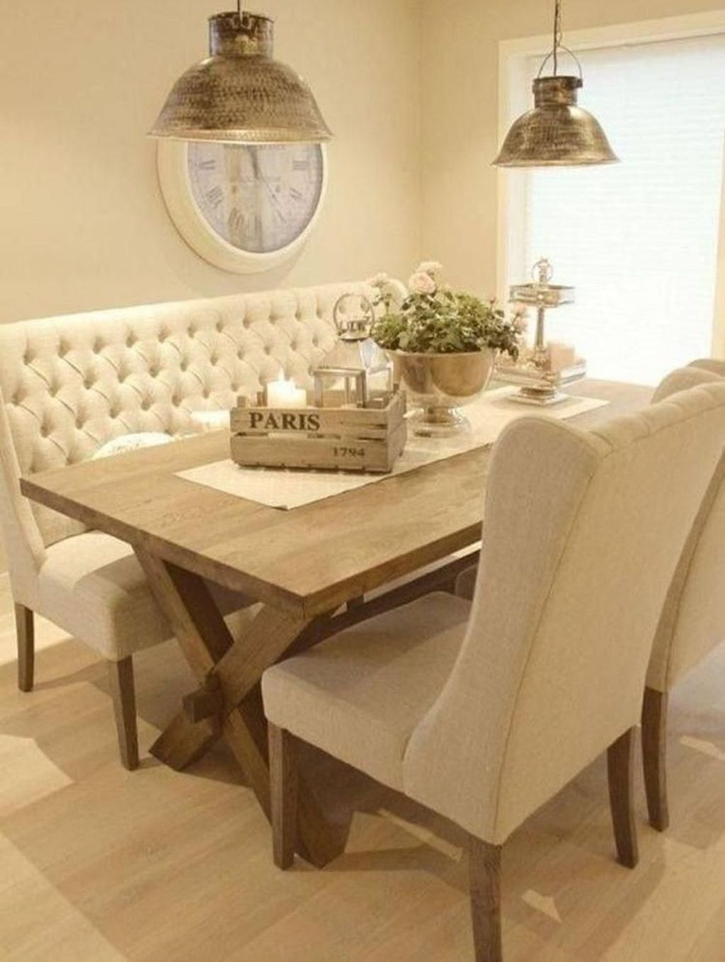 47 Cool Dining Room Booth Design Ideas Farmhouse Dining Room