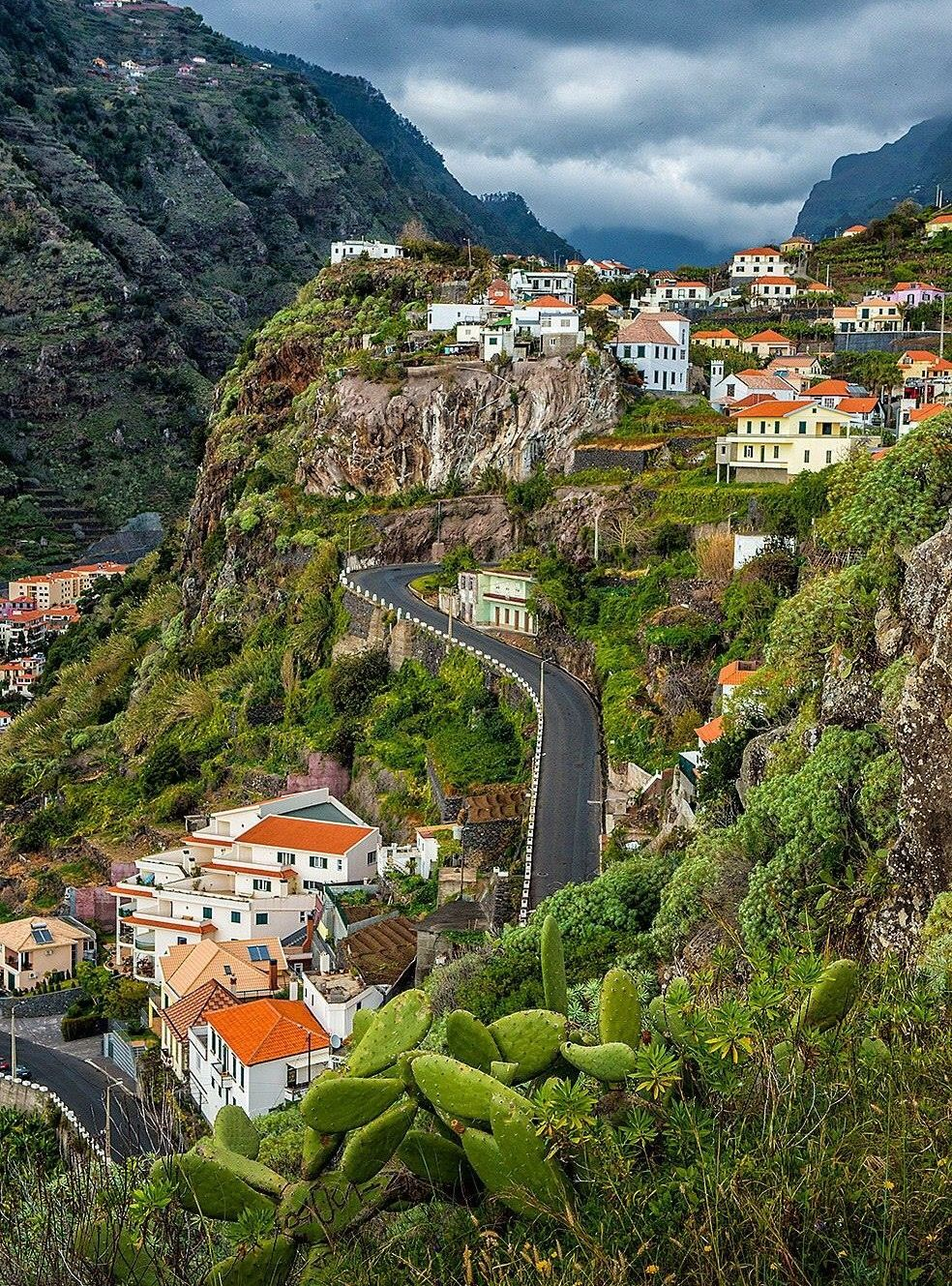 Old road from Ribeira Brava to Funchal .It takes much more time but the views are outstanding. For Property for sale along this location visit:www.madeirapropertyguide.com