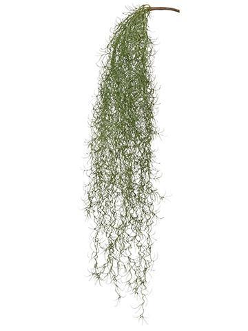 Spanish Moss Hanging Bush Artificial Greenery Afloral Com Spanish Moss Artificial Flowers And Plants Hanging Plants Diy
