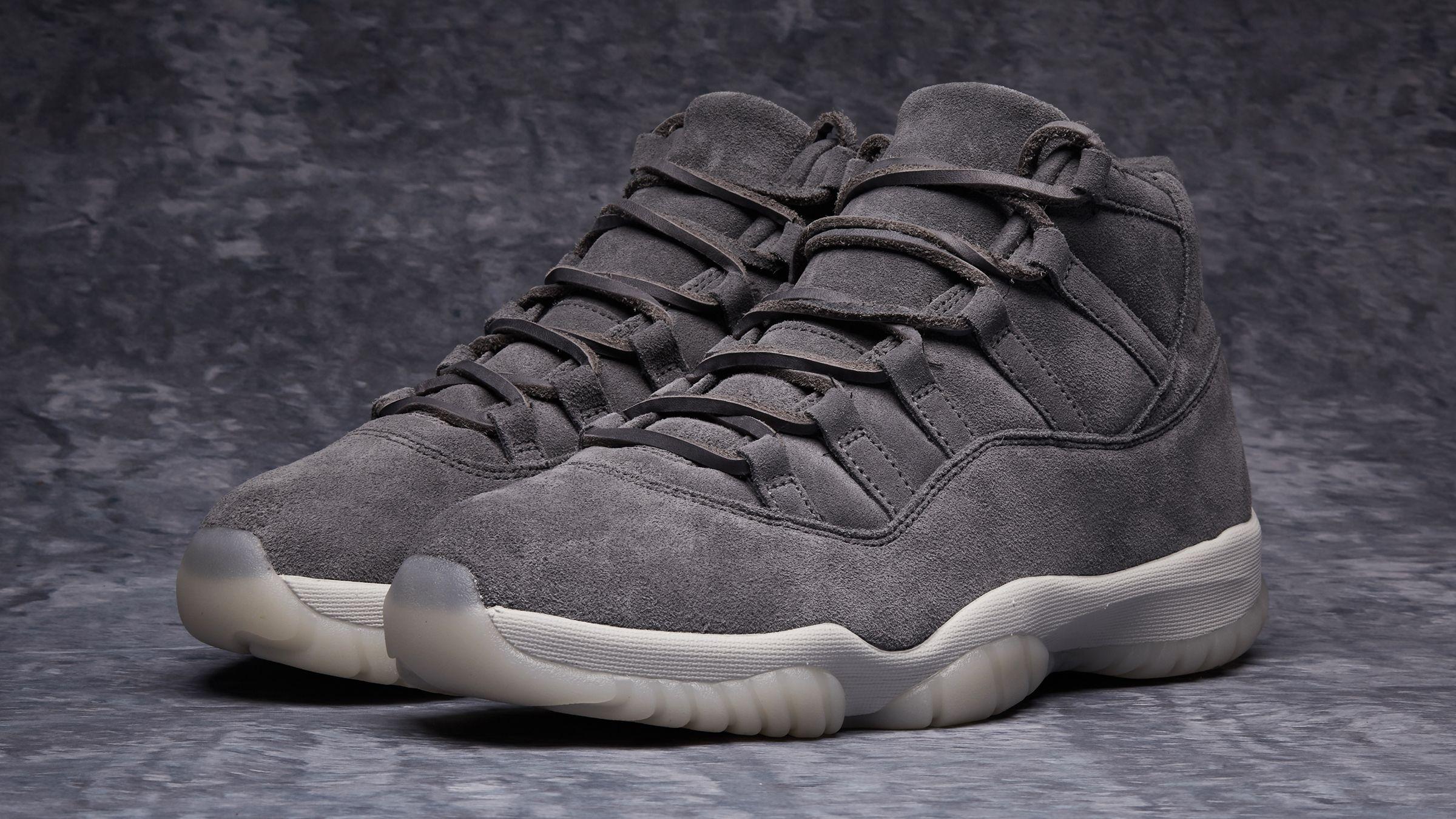 reputable site 3397e 3f39f Air Jordan 11 Premium « Cool Grey » Credit   End Clothing  Nike  Inside