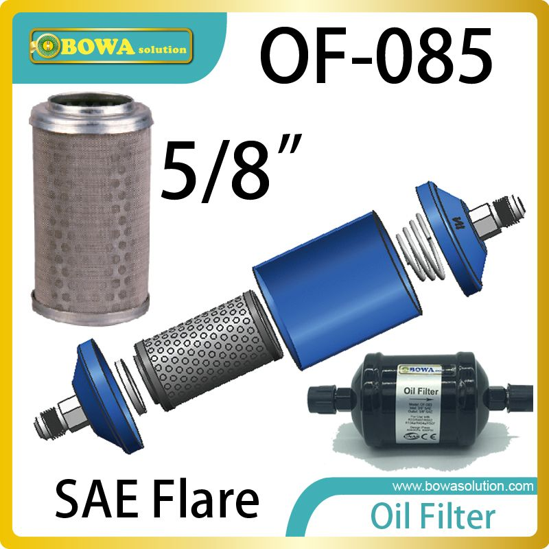 Of085 Oil Filter Must Be Installed In Accordance With The Flow Direction Arrow Located Between The Oil Separator And Reservoir Oil Filter Filters Oils