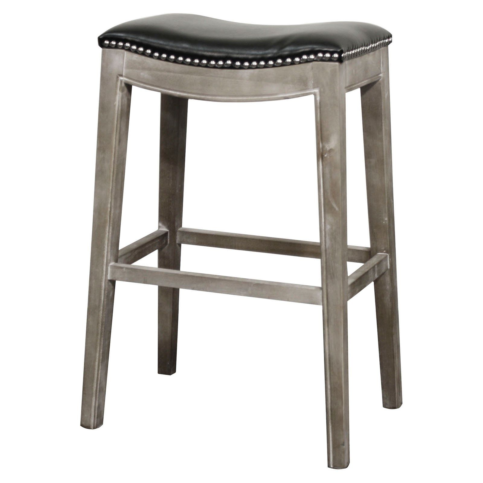 5009b4872070 New Pacific Direct Inc Elmo 31 in. Bonded Leather Bar Stool in 2019 ...