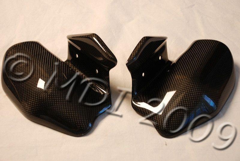 Ducati Monster Carbon Fiber Exhaust Guards Carbon Fiber Motorcycle