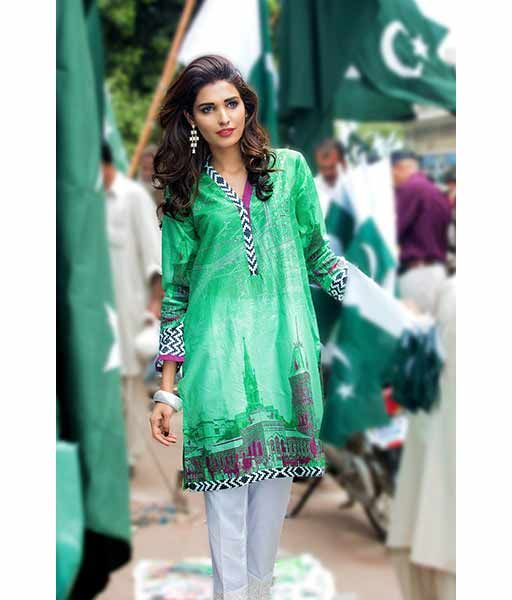 8564917f81 Pakistan Independence Day Dresses For Girls In 2019 | Independence ...