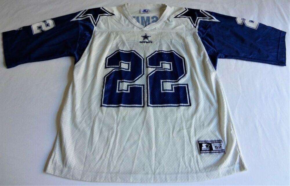 meet f796f 5471c Vintage 1995 Emmitt Smith Dallas Cowboys Jersey - Size XL ...
