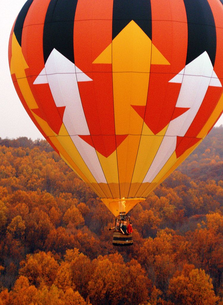 From Above and Beyond Ballooning. Hot air balloon rides