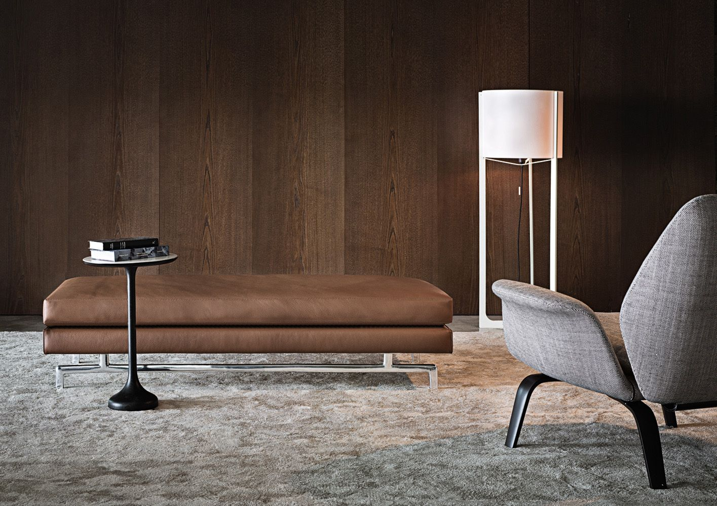 Smink Incorporated | Products | Sofas | Minotti | Sherman 93 Bench