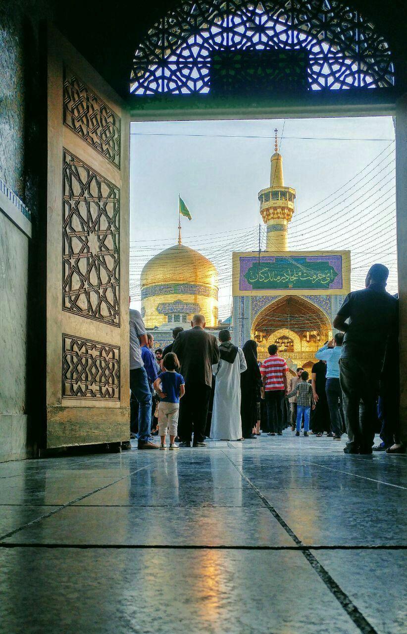 اي حرمت ملجا درماندگان امام رضا Islamic Pictures Shrine Pictures