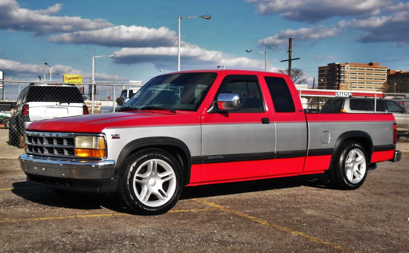 Ad A F Aac Dd F Ee D F on 1996 Dodge Dakota Extended Cab Red