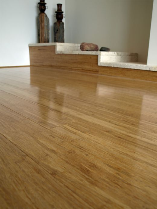 Carbonized Strand Woven Bamboo Flooring Beautiful