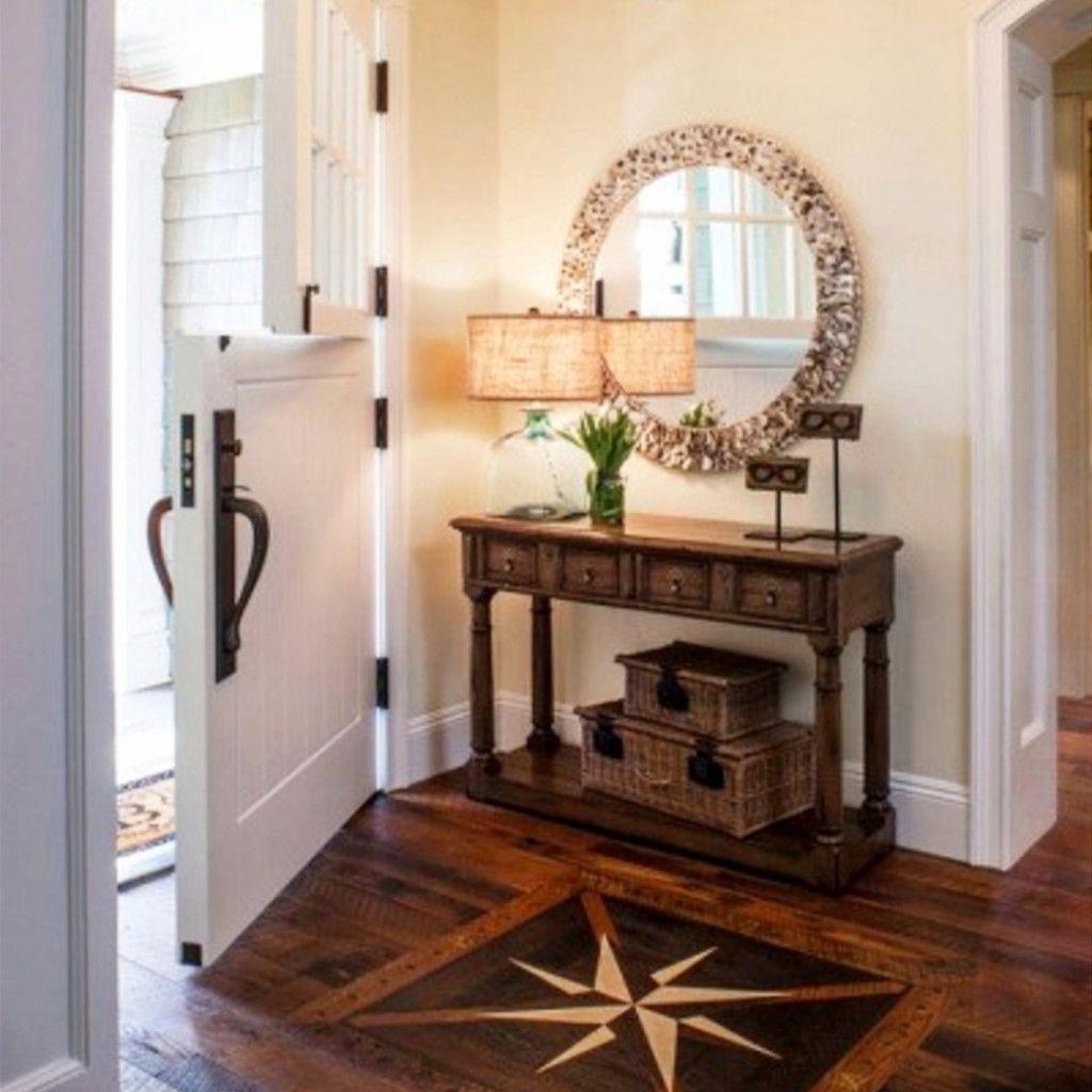 Home Interior Entrance Design Ideas: Foyer Decor Ideas And Small Entryway Decorating Ideas On A