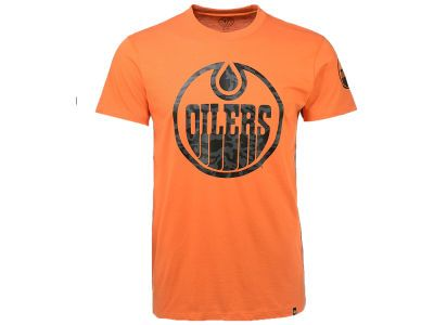 Edmonton Oilers '47 NHL Men's Frozen Rope T-Shirt