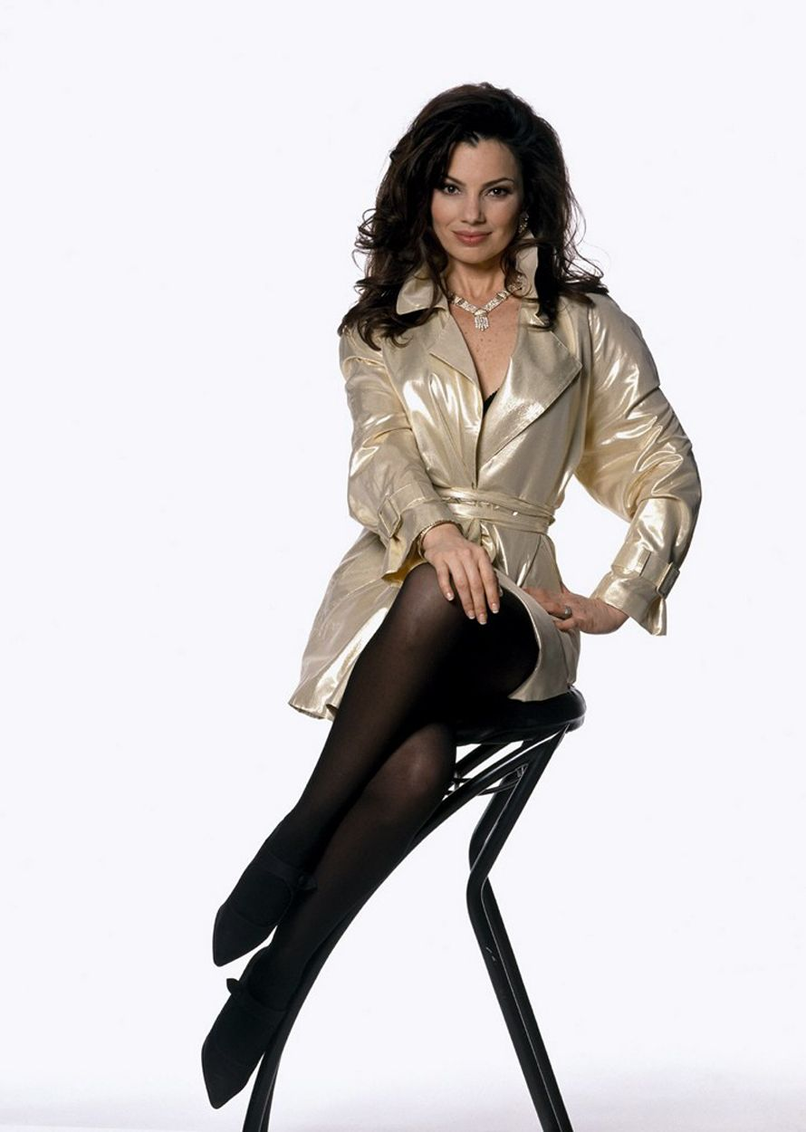 This is the RIGHT way to sit with your legs crossed! Feels odd, but looks best!   Pic of   Fran Drescher