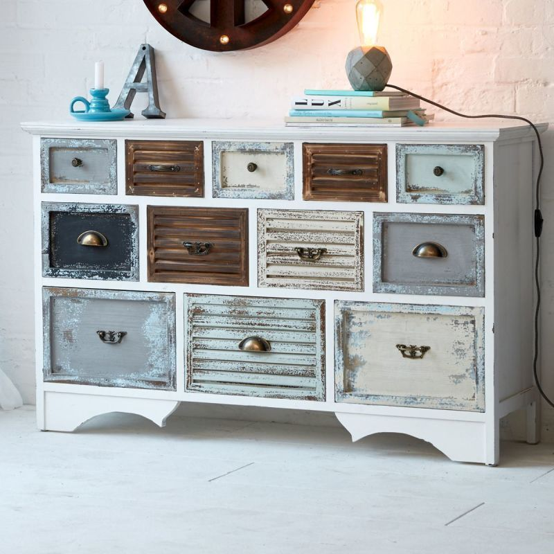 kommode schubladen moderne kommode shabby chic antik schrank tannenholz home. Black Bedroom Furniture Sets. Home Design Ideas